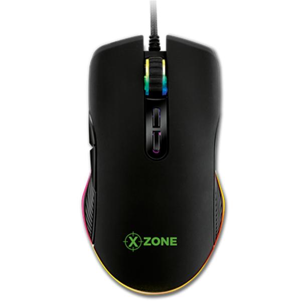 Imagem de GAMING MOUSE GAMER XZONE GMF-02 16400DPI USB PRETO LED RGB