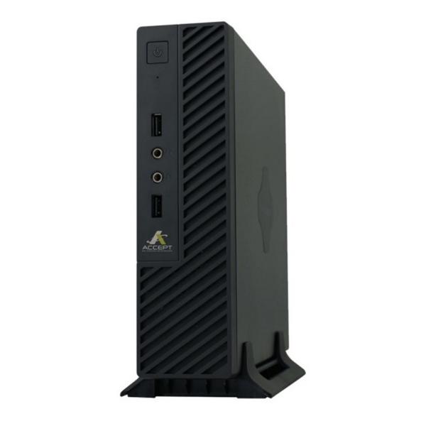 Imagem de MINI PC ACCEPT 2K V3 INTEL CELERON QC J4105/ 4GB/ SSD 120GB/ VESA/ LINUX