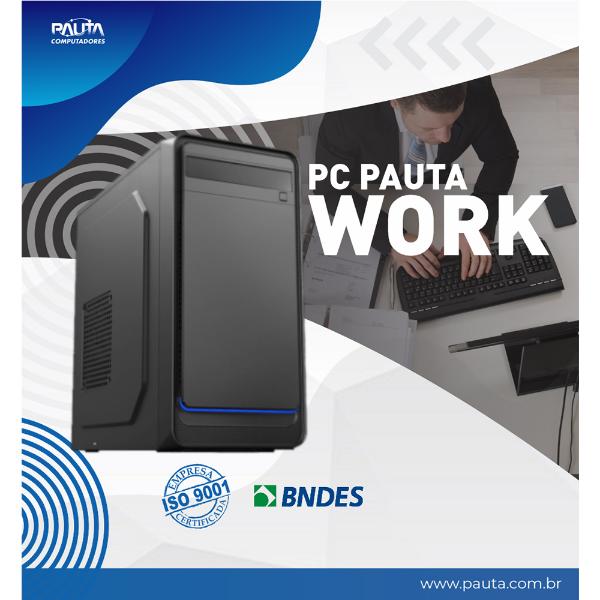 Imagem de PC PAUTA WORK CORE I3-10100/ 4GB/ 120GB SSD/ FREEDOS/ SEM DVD - S/ TECL. E MOUSE