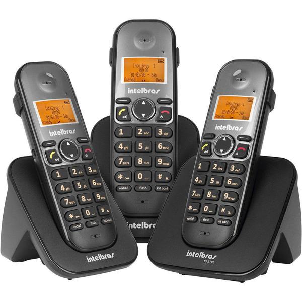 Imagem de TELEFONE INTELBRAS TS 5150 S/FIO PRETO