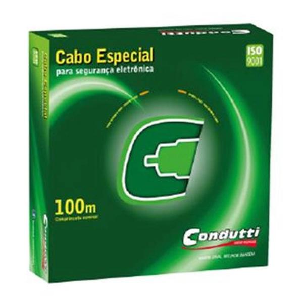 Imagem de CABO MANGA CABO MANGA CONDUTTI 4VIAS CX100M CFTVVIDEO PORTEIRO