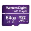 Imagem de CARTAO DE MEMORIA SD WD PURPLE CLASS 10UHS-I 64GB -WDD064G1P0C