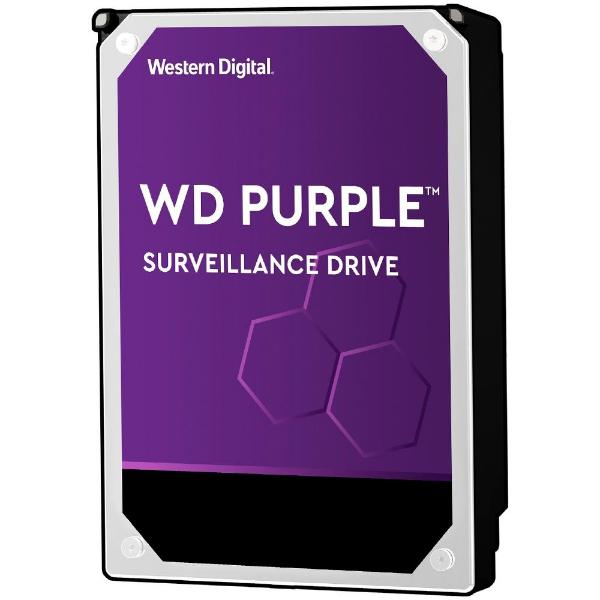 Imagem de HDD WD PURPLE 10 TB PARA SEGURANCA / VIGILANCIA / DVR - WD102PURZ