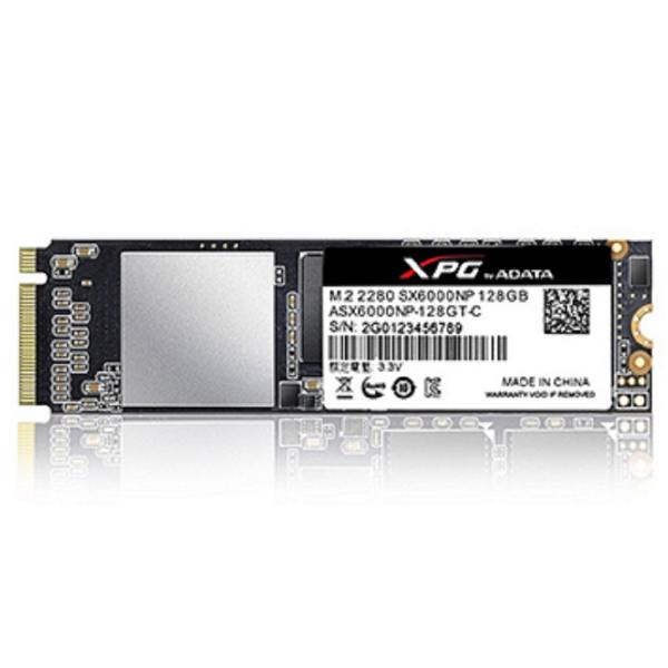 Imagem de SSD ADATA 128GB M.2 2280 XPG PCIE SX6000NP ASX6000LNP-128GT-C