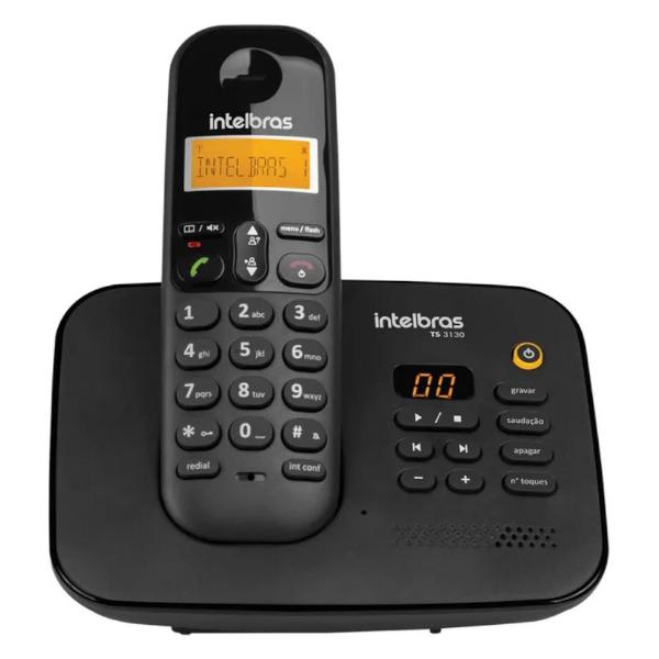 Imagem de TELEFONE INTELBRAS TS3130 ID S/FIO PRETO