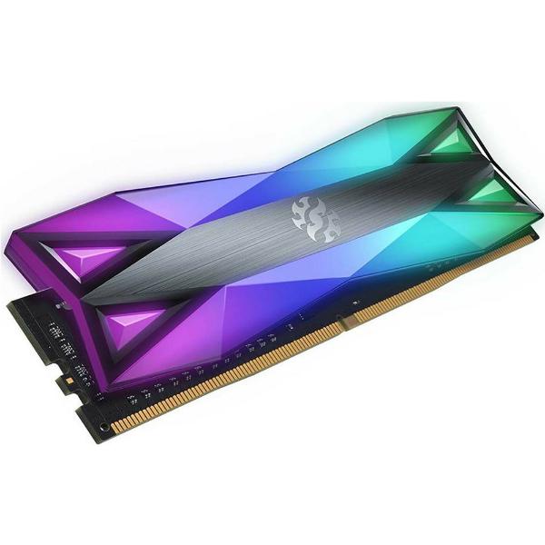 Imagem de MEMORIA ADATA XPG SPECTRIX D60 RGB 8GB DDR4 3200MHZ - AX4U32008G16A-ST60