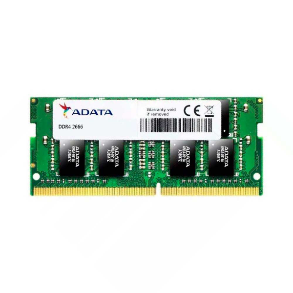 Imagem de MEMORIA ADATA 8GB DDR4-2666MHZ  1.2V - NOTEBOOK - AD4S26668G19-SGN