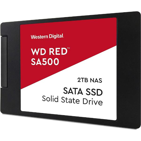 """Imagem de SSD WD RED SA500 2TB 2,5"""" 7MM SATA 3  PARA SERVIDOR-WDS200T1R0A"""
