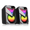 Imagem de CX DE SOM C/ SUBWOOFER GAMER REDRAGON TOCCATA RGB PRETO - GS700