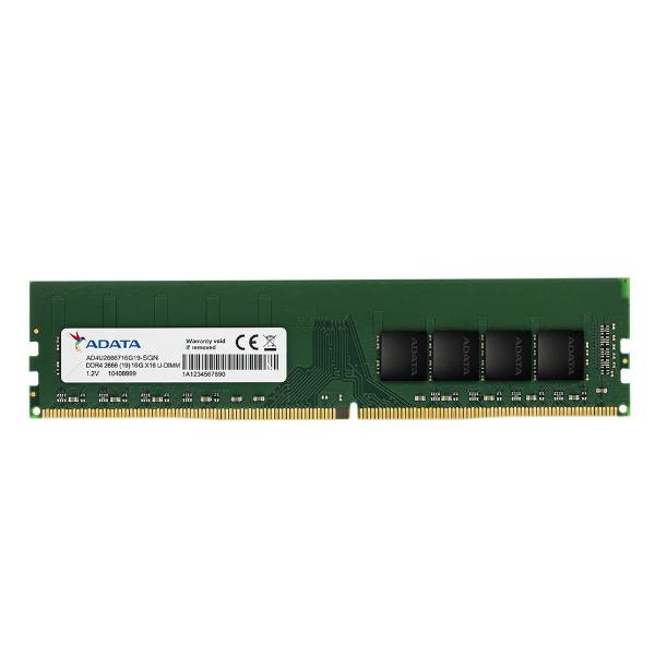 Imagem de MEMORIA ADATA 16GB DDR4 2666MHZ DESKTOP - AD4U266616G19-SGN