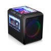 Imagem de GABINETE K-MEX GAMER MICROCRAFT III CG-03RC COM FAN 5 CORES