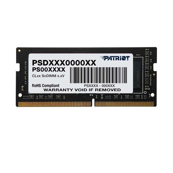 Imagem de MEMORIA PATRIOT 16GB DDR4 2666MHZ 1.2V SIGNATURE -NOTEBOOK- PSD416G26662S
