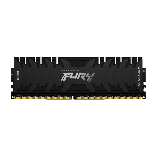 Imagem de MEMORIA KINGSTON FURY RENEGADE 16GB DDR4 3200MHZ 1.35V BLACK DESKTOP - KF432C16RB1/16
