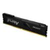Imagem de MEMORIA KINGSTON FURY BEAST 16GB DDR4 2666MHZ 1.2V BLACK DESKTOP - KF426C16BB/16