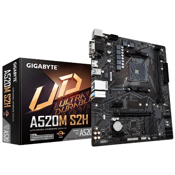 Imagem de PLACA MAE (AMD) GIGABYTE A520M S2H DDR4 AM4