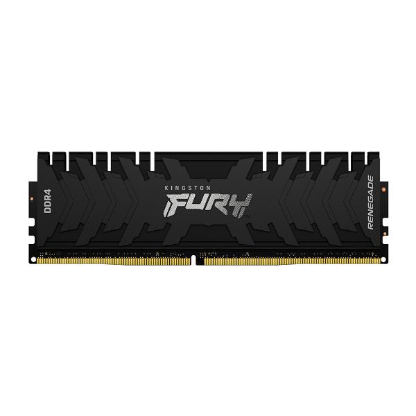 Imagem de MEMORIA KINGSTON FURY RENEGADE 8GB DDR4 3200MHZ 1.35V BLACK DESKTOP - KF432C16RB/8